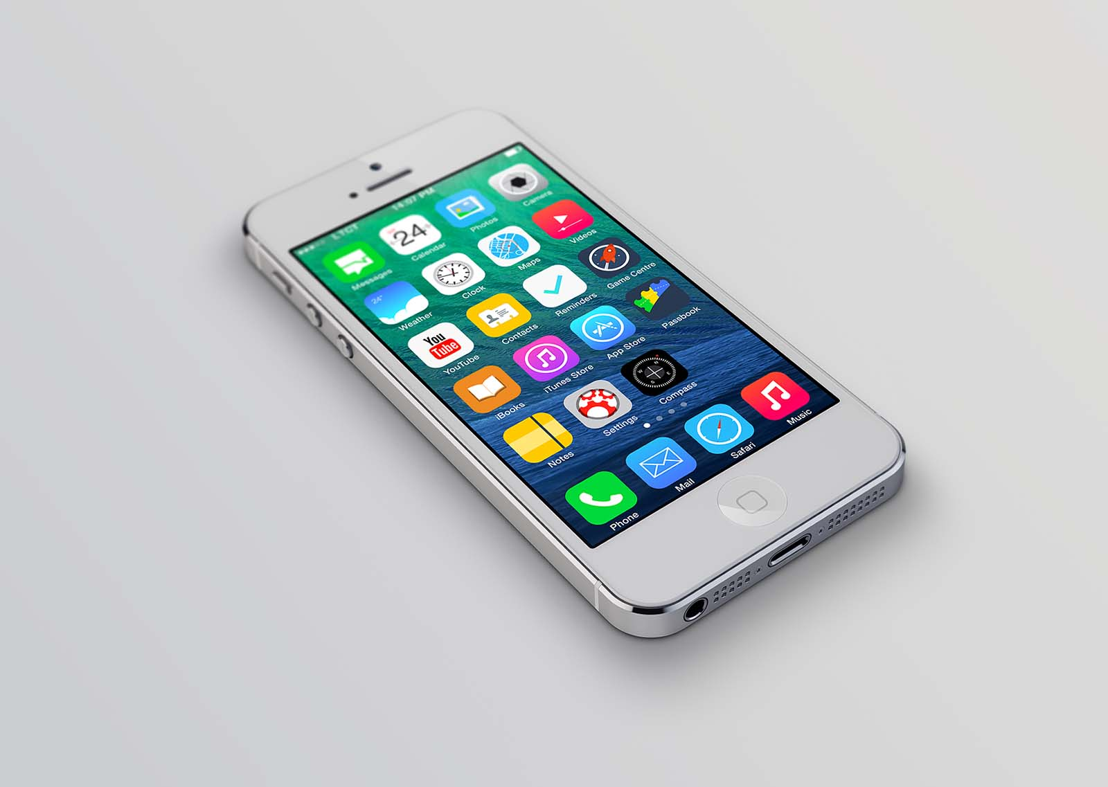 ios - Issue with custom renderer and adding icons to ...